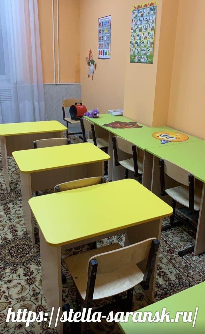 Детская мебель для обустройства учебной зоны